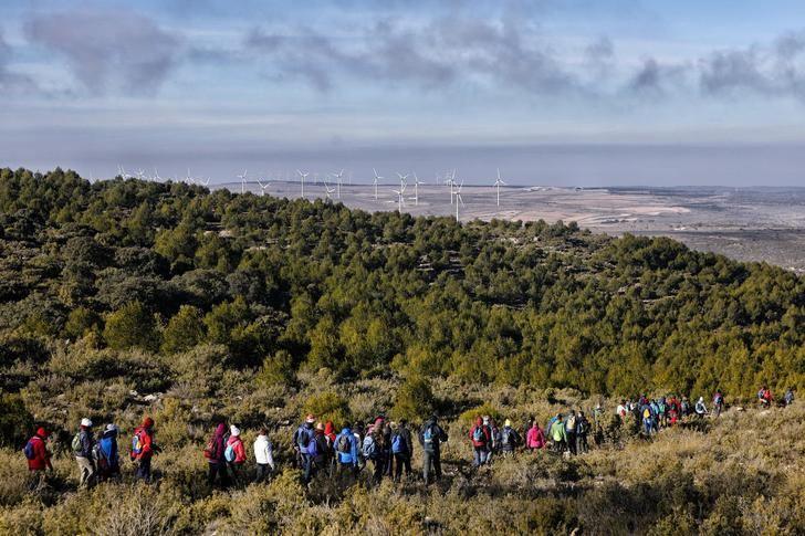 La II ruta de senderismo se celebrará este sábado en Higueruela