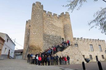 Carcelén fascinó el pasado sábado a los participantes de la nueva Ruta Senderista
