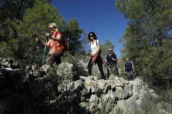 Alcalá del Júcar y Nerpio deslumbraron el pasado fin de semana en las rutas de senderismo