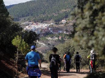 Paterna del Madera acoge el sábado la ruta senderista de la Diputación
