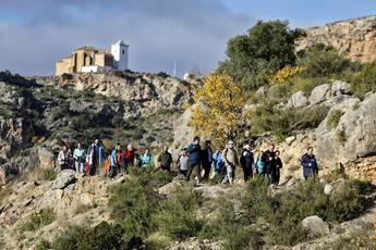 El pasado fin de semana finalizaron las rutas de senderismo de la Diputación en Villa de Ves y Jorquera