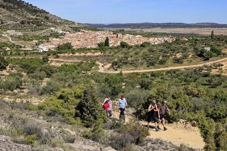 Carcelén acoge este sábado la nueva ruta senderista de la mano de la Diputación