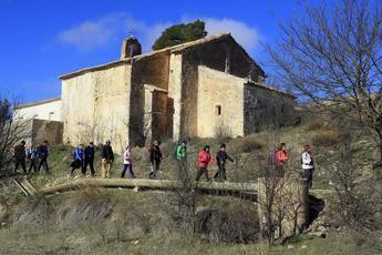 Alpera acoge el próximo sábado la VI edición de senderismo de la Diputación Provincial