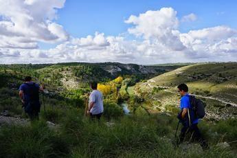 Impresionante ruta de senderismo de la Diputación de Albacete, en Valdeganga