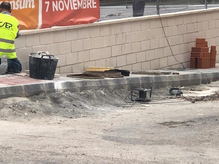 El PP de La Roda denuncia la falta de trabajo del equipo de gobierno en las obras de accesibilidad al municipio