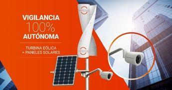 Energía renovable para las cámaras de vigilancia LiveSmart, el futuro de la seguridad