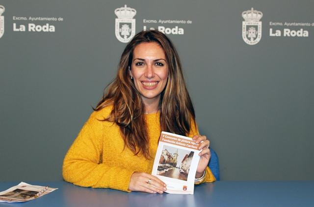 """El Ayuntamiento de la Roda presenta el V concurso nacional de pintura rápida """"Fundación Antonio Carrilero"""""""