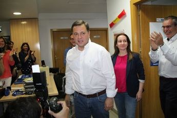 """Serrano (PP) se siente el""""ganador moral"""" de las elecciones municipales en Albacete"""