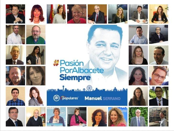 El PP desvela su candidatura para que Manuel Serrano siga siendo alcalde de Albacete