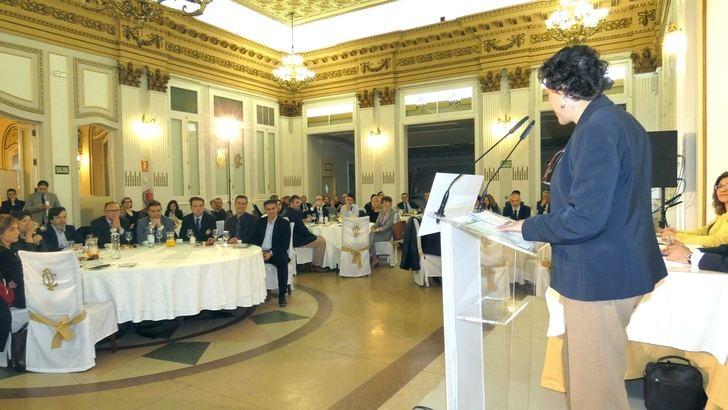 Cabañero asiste a la ponencia 'Políticas de Empleo y Seguridad Social' celebrado en el Casino Primitivo de Albacete