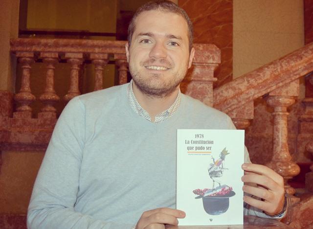 El albaceteño Manuel Martínez presenta su ensayo '1978. La Constitución que pudo ser'