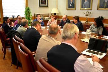 Cabañero preside la primera mesa provincial de Desarrollo Rural del 2020 en la Diputación de Albacete