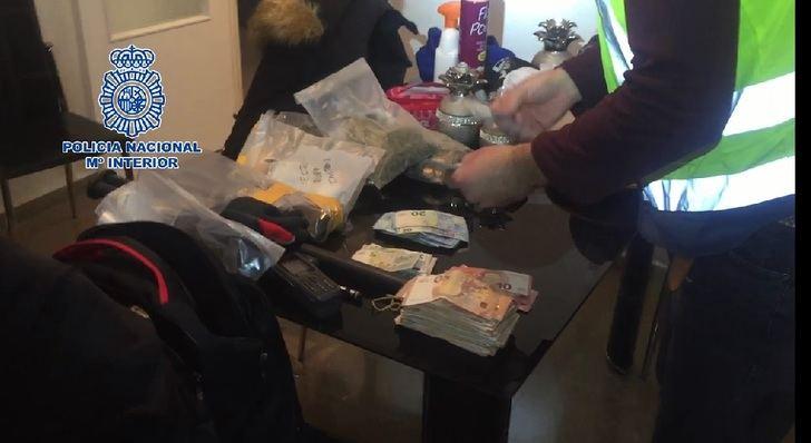 La Policía Nacional ha desarticulado en Albacete una red de distribución de cocaína