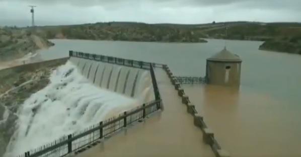 13 personas rescatadas en la provincia de Albacete, atrapados por lluvias en Almansa y Caudete