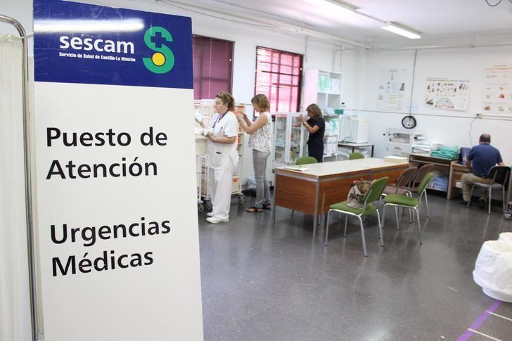 El puesto de urgencias médicas en la Feria de Albacete empieza mañana a funcionar