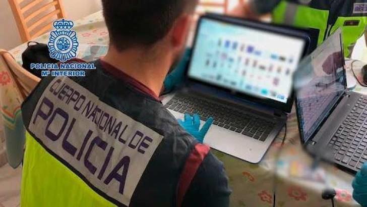 15 detenidos en Albacete y otras provincias por posesión y distribución de pornografía infantil por redes sociales