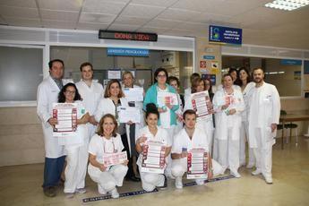 El Hospital de Cuenca obtiene el primer premio en el programa 'Flebitis Zero'