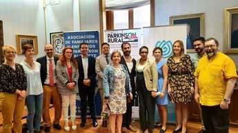 La Diputación presenta el proyecto 'Parkinson rural' para visibilizar la enfermedad y ayudar a familias