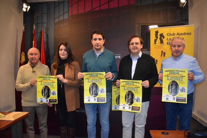 La Felipa (Albacete) acoge la VI edición del Campeonato Provincial de ajedrez