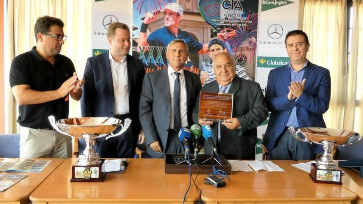 El Club de Tenis Albacete presenta la XXXV edición del Torneo Internacional Ciudad de Albacete