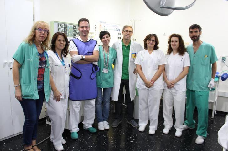 Profesionales de Atención Integrada de Albacete han realizado 60 criobiopsias pulmonares