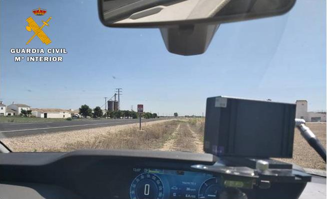 El conductor que viajaba a 191 km/h en Balazote (Albacete) podría enfrentarse a una pena de seis meses de prisión