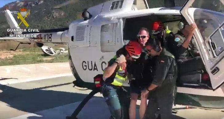 La Guardia Civil tuvo que rescatar a tres participantes de una prueba de trail cerca del río Mundo, en Albacete