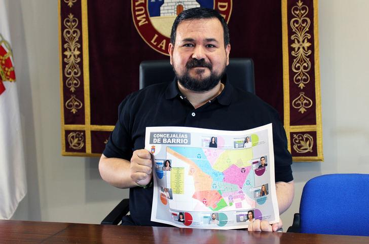 El Ayuntamiento de La Roda presenta las 9 zonas de concejalías de barrios