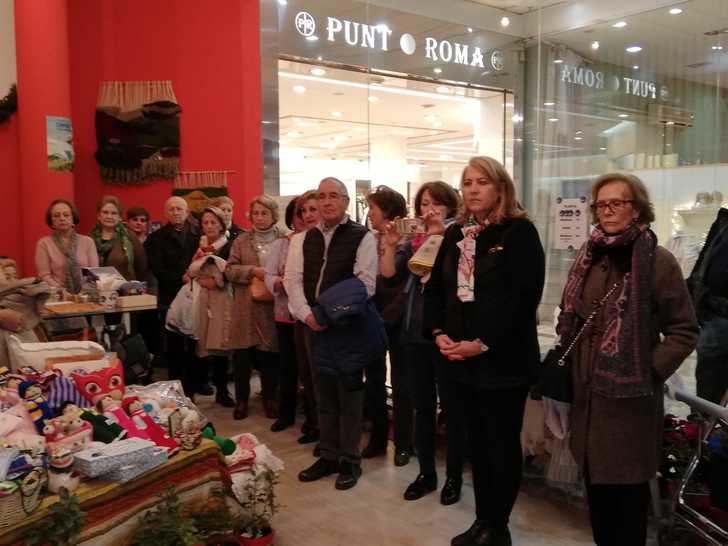 Manos Unidas de Albacete instalada un Rastrillo Solidario en el centro comercial Calle Ancha