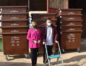 La Diputación de Albacete invierte 104.760 euros en 'contenedores marrones' de biorresiduos que llegarán a 7 municipios