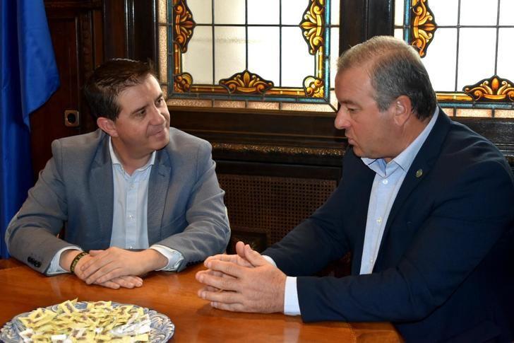 La Diputación Provincial se compromete a colaborar con el Campeonato Provincial de Golf