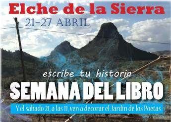 Elche de la Sierra acoge el próximo sábado la II Semana del Libro