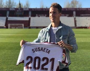 """Susaeta: """"Renuevo con el Albacete porque soy enormemente feliz aquí"""""""