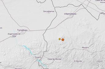 Un terremoto de 3,8º en Ossa de Montiel (Albacete), se siente en una veintena de lugares