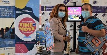 El Ayuntamiento anima a la juventud albaceteña a vivir la cultura europea con la campaña 'Time to move'