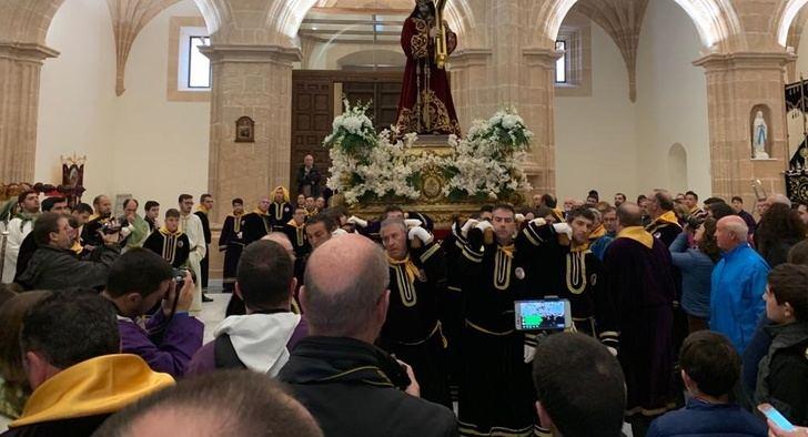 Doce hermandades participan en la Procesión al Calvario y la Bendición en la Semana Santa de Tobarra