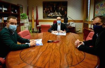 Asociaciones 'ARTE' y 'ACOPLE' trasladan a la Diputación de Albacete la situación del sector del espectáculo