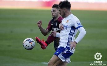 Zaragoza-Albacete. Dolorosa derrota manchega en el minuto 89 (1-0)
