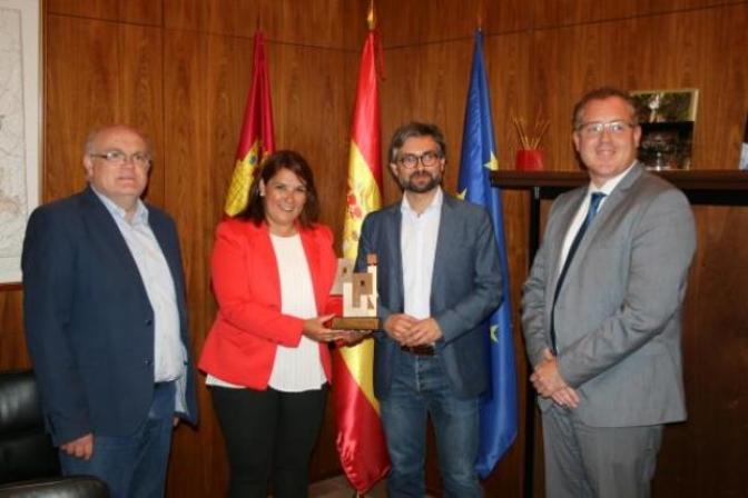 El Gobierno de Castilla-La Mancha reconoce al Ayuntamiento de Alcalá del Júcar el primer premio en los proyectos 'ARUIs'