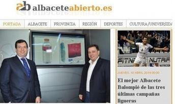 albaceteabierto.es también es noticia en toda la región