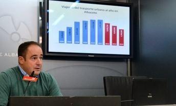 El PSOE denuncia que se han perdido 1,3 millones de viajeros en el autobús urbano de Albacete