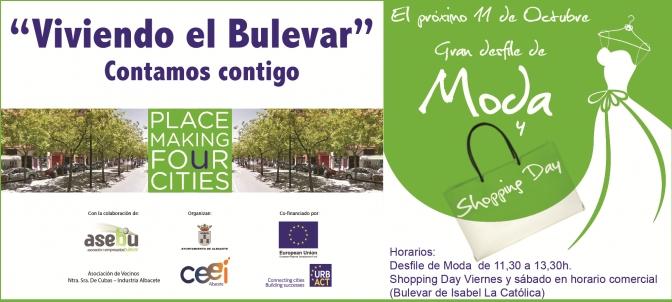 Desfile de Moda y Shopping Day en el Bulevar de Isabel la Católica y Menéndez Pidal