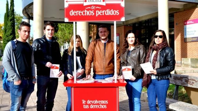 Los jóvenes socialistas de Albacete se 'revuelven' ante tantos derechos perdidos en los últimos cuatro años