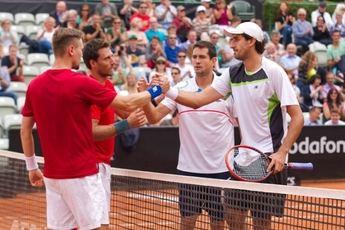 Guillermo García López y el austriaco Oswald perdieron en la final de dobles de Stuttgart