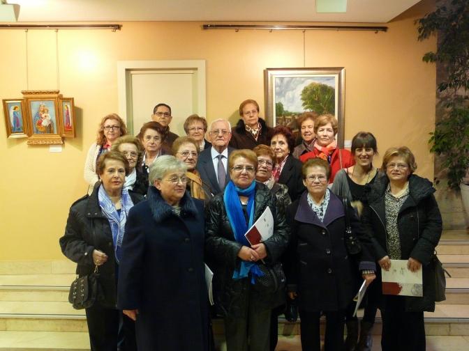 Inaugurada la XIII Muestra de Pintura de Mujeres Mayores
