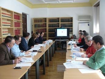 Reunión en la Subdelegación de Gobierno de Albacete sobre seguridad vial