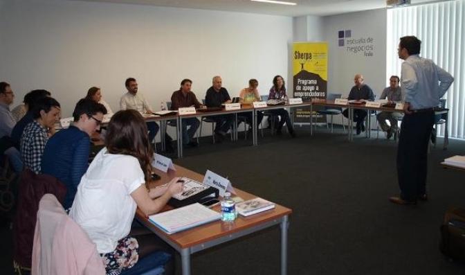 Quince nuevos emprendedores terminan la formación en el Programa Sherpa 2014, patrocinado por la Diputación y FEDA
