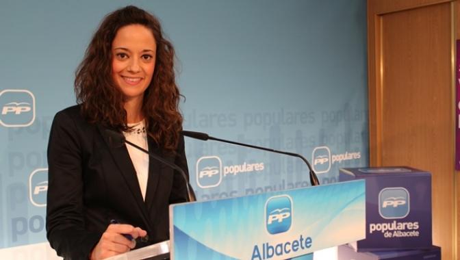 María Delicado  (PP) aplaude la gestión de María Dolores Cospedal y Carmen Bayod