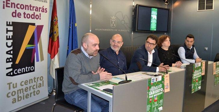 'Albacete, abierto por Navidad', una nueva campaña del comercio del centro