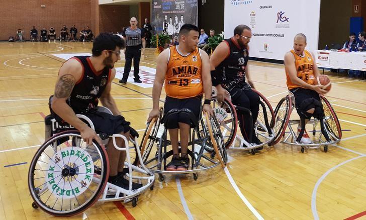 El BSR Amiab Albacete ganó al Bidaideak Bilbao y jugará la final de la Liga (45-57)